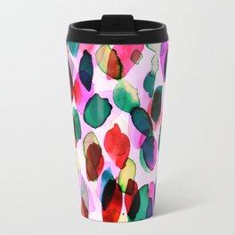 Rainbow Drizzle Jewel Travel Mug