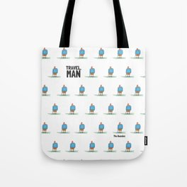 Travel, Man Tote Bag