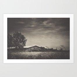 When The Wind Blows Art Print