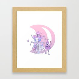 Lovey Lolita Yokai Framed Art Print
