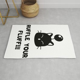 Ruffle your fluff!!! Rug