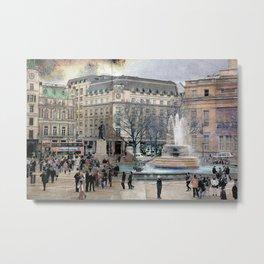 London XI - Trafalgar Square  Metal Print
