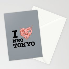 I Tetsuo Neo Tokyo Stationery Cards