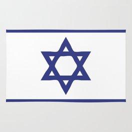 Israel flag emblem Rug