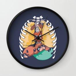 Anatopug Wall Clock