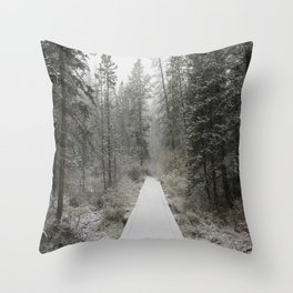 Silverthorne, CO Throw Pillow