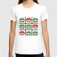 luigi T-shirts featuring Super Mario Luigi  by Xiao Twins