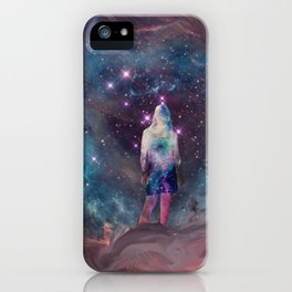 Meditation in the Stars iPhone Case