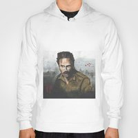 rick grimes Hoodies featuring Walking Dead -Rick Grimes by NorthLight