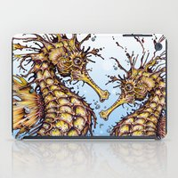 seahorse iPad Cases featuring Seahorse by TAOJB