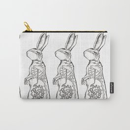 BUNNY X-RAY (multi) Carry-All Pouch
