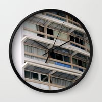 building Wall Clocks featuring Building by anacaprini