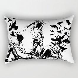 Famous also Fade Rectangular Pillow