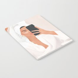 Morning Selfie Notebook