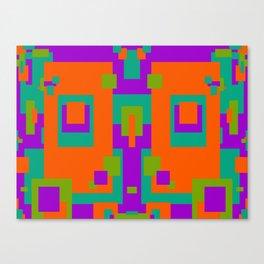 Herb, Berry, Pumpkin Decorative Design 2 Canvas Print