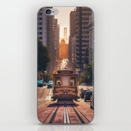 San Francisco Trolley (Color) iPhone Skin