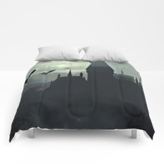 Harry Potter - The Dementors Come To Hogwarts Comforters