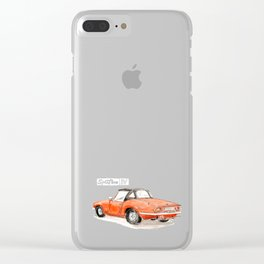 SpitfireIV - Red Clear iPhone Case