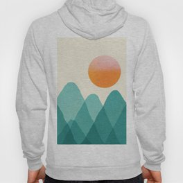 Abstraction_Mountains_SUNSET_Landscape_Minimalism_003 Hoody
