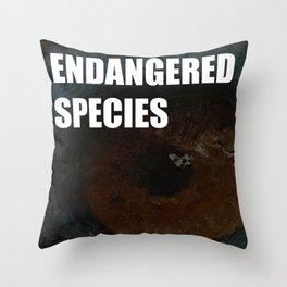 Endangered Species Throw Pillow