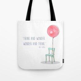 Think and Wonder Tote Bag