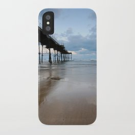 Saltburn by the Sea iPhone Case