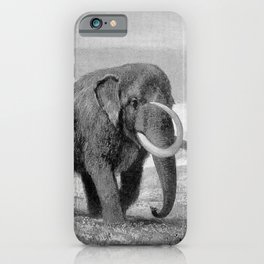 Woolly Mammoth iPhone Case