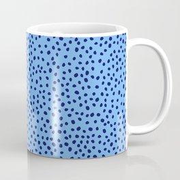 Blue Spots Coffee Mug