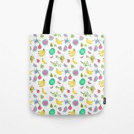 Watercolour Fruit Salad Tote Bag