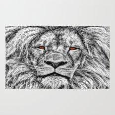 Black Lion Rug