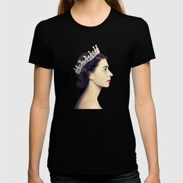 QUEEN ELIZABETH II - THE YOUNG QUEEN IN PROFILE T-shirt