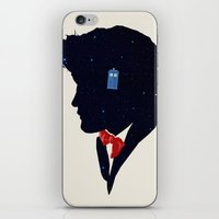 dr who iPhone & iPod Skins featuring Dr Who - Geronimo by Duke Dastardly