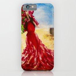 Rose of the Karoo by M.Viljoen iPhone Case