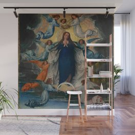 Michel Sittow – the assumption of the virgin Wall Mural