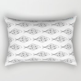 Cirrus/Halibut Rectangular Pillow