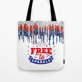 Time to Sparkle Tote Bag
