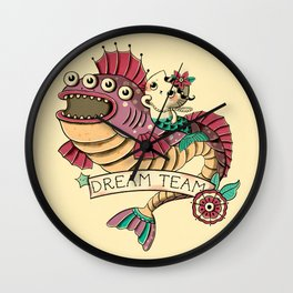 Deam Team Wall Clock