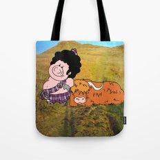 The highlander Tote Bag