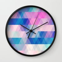 diamonds Wall Clocks featuring diamonds by Sylvia Cook Photography
