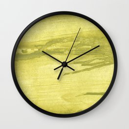 Green khaki Wall Clock