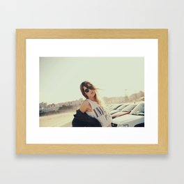 Sydney Girl Framed Art Print