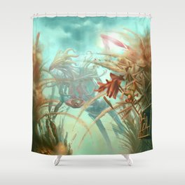Giants and Healers Shower Curtain
