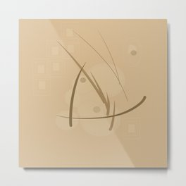 Geometrical Shape 2 Metal Print