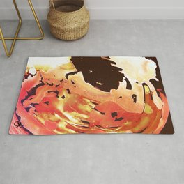 Rose Gold Wave Rug
