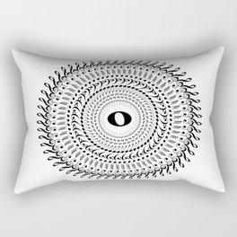 Music mandala no 2 Rectangular Pillow