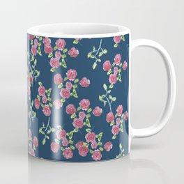 Roses on blue Coffee Mug