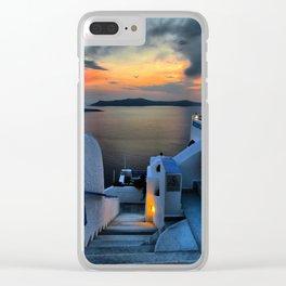 Santorini 15 Clear iPhone Case