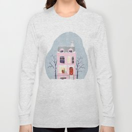 Xmas house Long Sleeve T-shirt