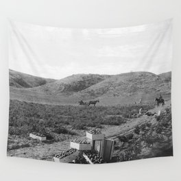 People Picking Tomatoes, Hammel & Denker Ranch Wall Tapestry