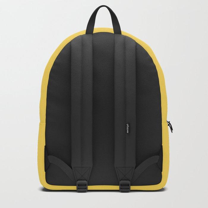 Mustard - solid color Backpack